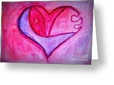 Love Heart 3 Greeting Card