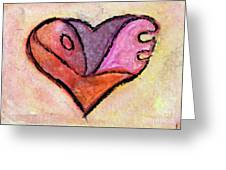 Love Heart 4 Greeting Card