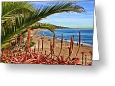 Love In Laguna Beach By Diana Sainz Greeting Card