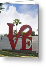 Love In A Summer Landscape Greeting Card