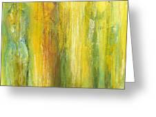 Love In Yellow Greeting Card