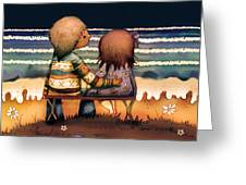 Love Is A Way Of Living Greeting Card by Karin Taylor