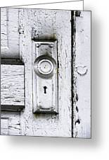 Love Is At Your Door Greeting Card