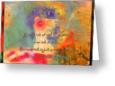 Love Is The Religion Greeting Card
