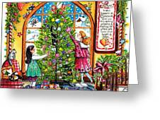 Love Is What Happens At Christmas Greeting Card