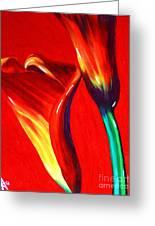 Love Lilies Greeting Card