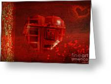 Love Locked Greeting Card
