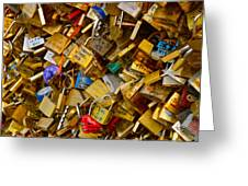Love Locks Eternal Greeting Card