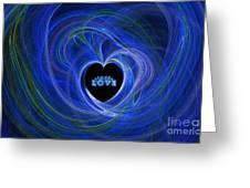 Love - Love - Love Greeting Card