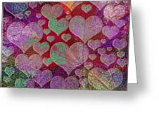 Love... Love... Love Greeting Card
