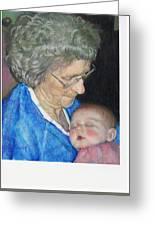 Woman, Redux Greeting Card