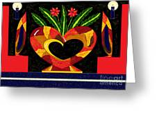Love Of Decorating Greeting Card