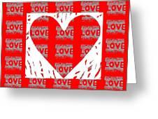Love On Love Greeting Card