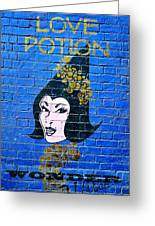 Love Potion Diagon Alley Greeting Card