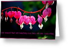 Love Quote Greeting Card