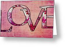 Love - S0103t Greeting Card