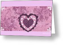 Love Series Collage - Heart 2 Greeting Card