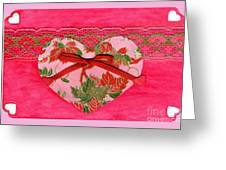 Love Series Collage - Heart 8 Greeting Card