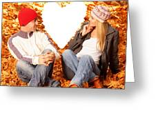 Love Story Greeting Card