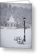 Love Through The Winter Greeting Card