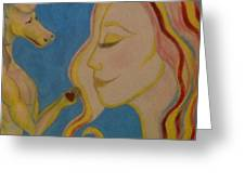 Love Transforms Greeting Card