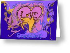 Love Triumphant Greeting Card by Kenneth James