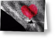 Love Under The Bridge Greeting Card