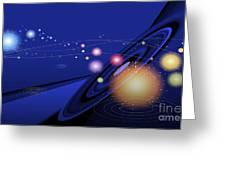 Love  Universe Greeting Card