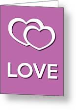 Love Violet Greeting Card