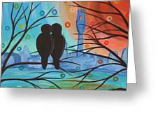 Lovebirds In P-town Greeting Card