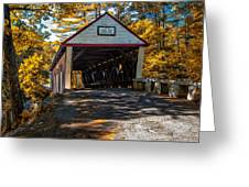 Lovejoy Covered Bridge Greeting Card