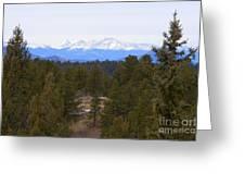 Lovell Gulch Hiking Trail Greeting Card