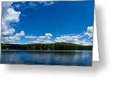 Lovell Lake Afternoon Greeting Card