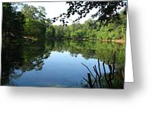 Lovely Lake Greeting Card
