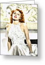 Lovely Rita Greeting Card