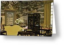Lovely Room At Winterthur Gardens Greeting Card