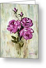 Lovely Roses Greeting Card