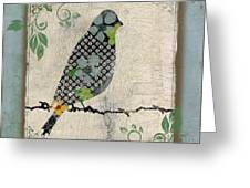 Lovely Song Bird-a Greeting Card