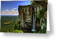Lover's Leap Greeting Card
