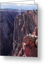 Lovers Leap Greeting Card