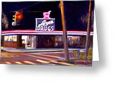 Love's Drugs Greeting Card
