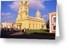 Low Angle View Of A Cathedral, Peter Greeting Card