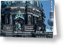 Low Angle View Of A Church, Berliner Greeting Card