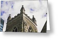 Low Angle View Of A Church, Trinity Greeting Card