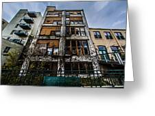Low Rent District Greeting Card