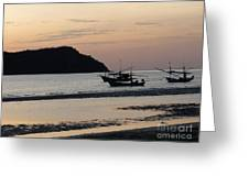 Low Tide 02 Greeting Card