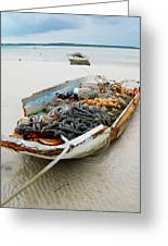 Low Tide 4 Greeting Card