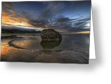 Low Tide At Cannon Beach Oregon Greeting Card
