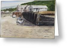 Low Tide At High Noon Greeting Card