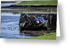 Low Tide Donegal Ireland Greeting Card